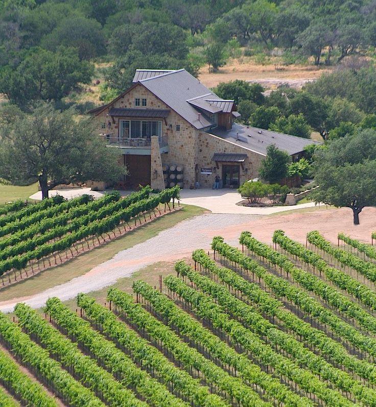 Bluebonnet Iphone Wallpaper Aerial View Of The Vineyards At Perissos Cellars Vino