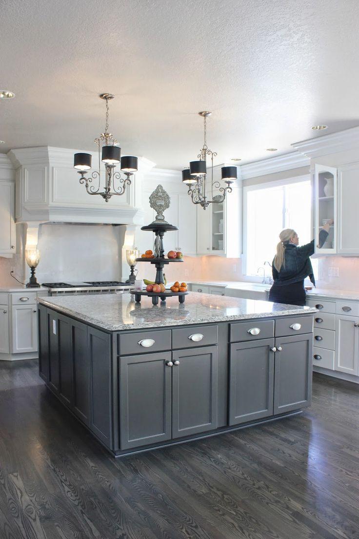 grey hardwood floors hardwood floor in kitchen 25 best ideas about Grey Hardwood Floors on Pinterest Grey wood floors Grey flooring and Wood floor colors