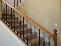 10+ best ideas about Indoor Stair Railing on Pinterest