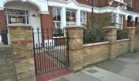 Kensington Brick Wall - Landscape Gardeners and Designers ...