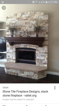 11 best images about painted stone fireplace on Pinterest ...