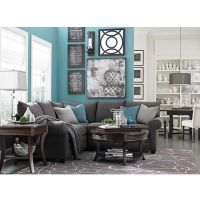 Living room colors - turquoise, grey, white | My living ...