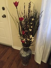 My floor vase. The floor vase was purchased from Ross as ...