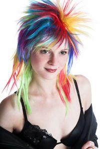 25+ best ideas about Punk hair color on Pinterest   Crazy ...