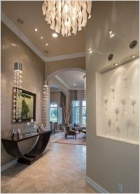 Contemporary art niche lighting | ... pendant lights Entry ...