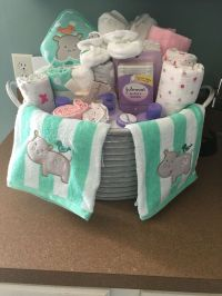 Best 25+ Baby Shower Baskets ideas on Pinterest
