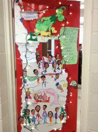 The Grinch classroom door   Door Decor   Pinterest ...