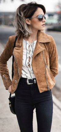 25+ best ideas about Suede Jacket on Pinterest   Autumn ...