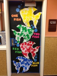 Dr. Seuss' Birthday - Door Decorating Contest - One Fish ...