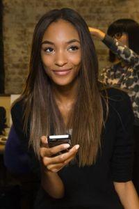 Jourdan Dunn #NYFW #AW14 | hair | Pinterest | Jourdan dunn