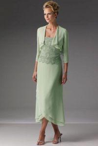 The Bride Dresses Tea Length Mother Of Groom For Summer ...