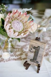 1000+ images about Wedding table numbers on Pinterest ...