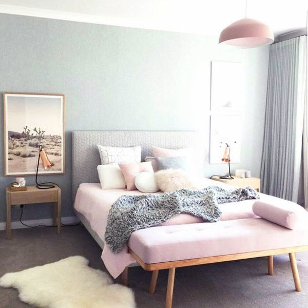 10 Best Ideas About Gray Pink Bedrooms On Pinterest | Grey