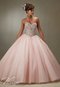10 Beauty and the Beast Inspired Quinceanera Dresses ...