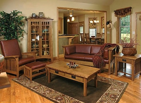 17 Best images about Mission style living room on