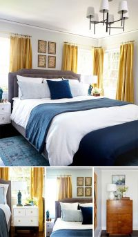 17 Best ideas about Navy Yellow Bedrooms on Pinterest ...