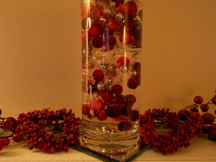 Cranberry Color Cranberry Decorations | Decking The Halls...with