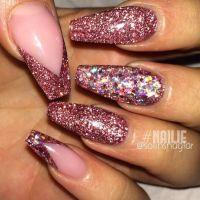 25+ best Glitter Gel ideas on Pinterest   Rhinestone nail ...