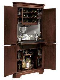 Corner Liquor Cabinet Bar - WoodWorking Projects & Plans