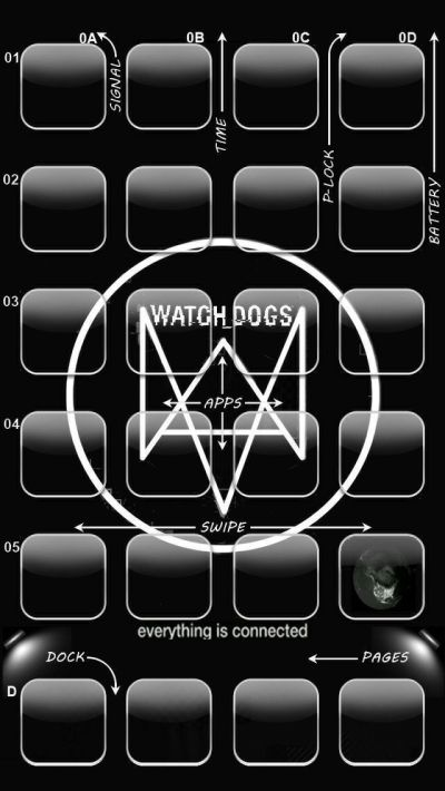 Watchdogs iPhone 5 Wallpaper | Iphone 5/5s Wallpaper | Pinterest | Wallpapers, iPhone and Iphone ...