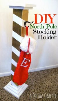 1000+ ideas about Stocking Holder Stand on Pinterest ...