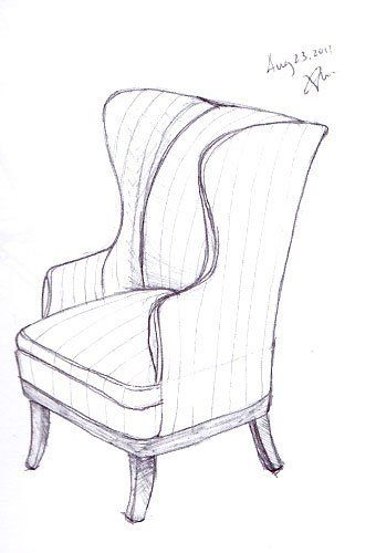 1000 Images About Design Sketching Chair Sofa On