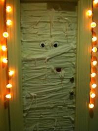 Halloween dorm door!   #Holiday #Dorm #Decor   Pinterest