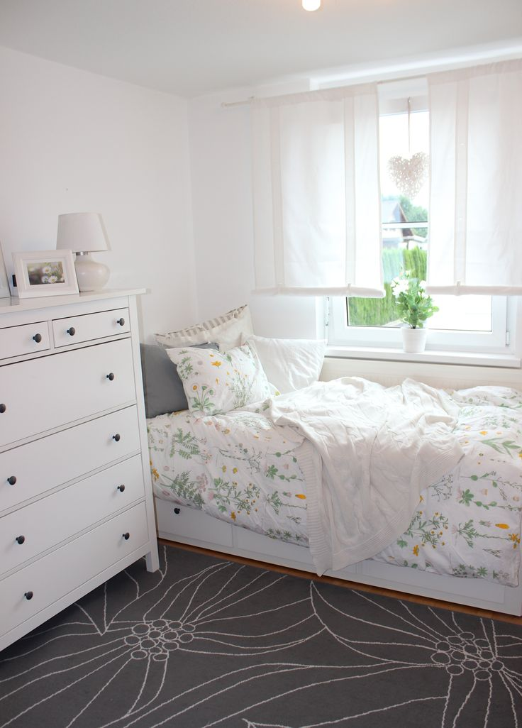 Single Schlafzimmer Einrichten Hemnes, Duvet And Daybeds On Pinterest