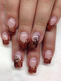 25+ best Fall gel nails ideas on Pinterest | Sparkle gel ...