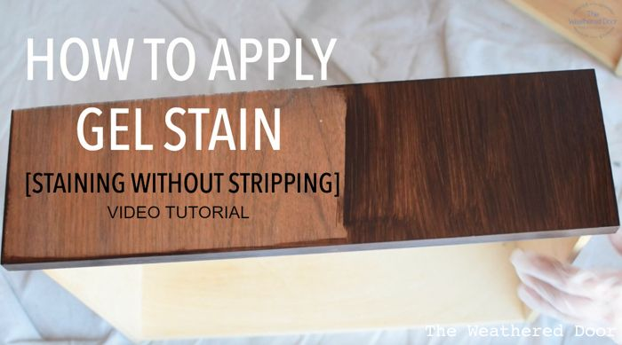 Gel Stain Video Tutorial (Staining Without Stripping | Stains, The