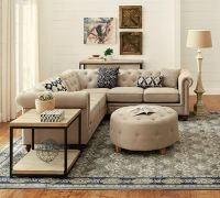 25+ best ideas about Tufted Sectional on Pinterest | Red ...