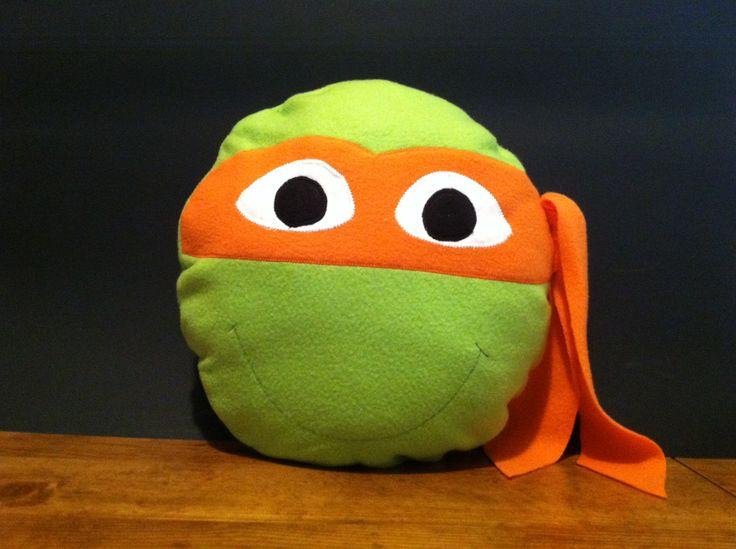 Ninja Turtle Pillow