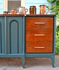 1000+ images about Painted Mid Century Modern Furniture ...