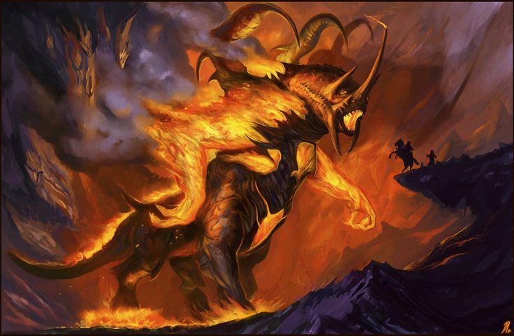Element Brand Wallpapers Girls Balrog The Balrogs Of Morgoth Pinterest