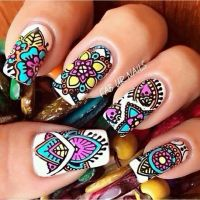 25+ Best Ideas about Indian Nail Art on Pinterest | Indian ...