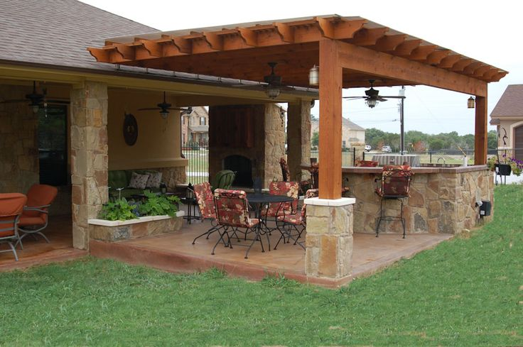 Covered Outdoor Kitchen Outdoor Pergolas Covered | Outdoor Kitchen, Weatherproof