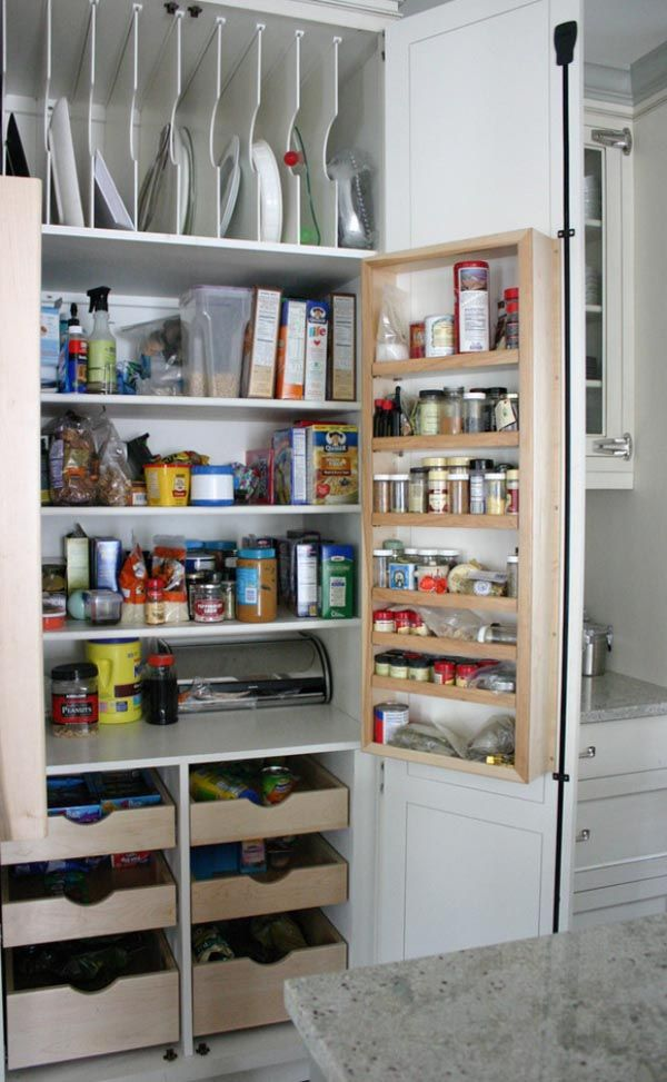 Kitchen Pantry Ideas 1000+ Images About Organizing: Kitchens, Pantries, Food On