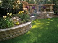 40 Retaining Walls and Raised Flower Bed Ideas ...