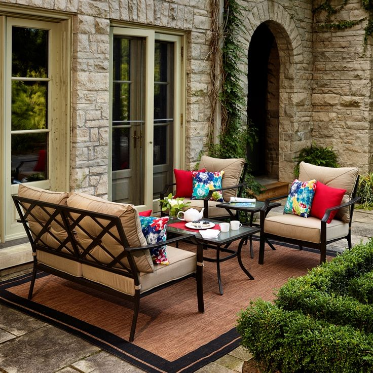 25 Best Ideas About Patio Sets On Pinterest Farmhouse