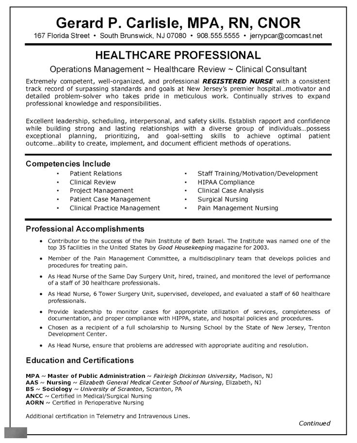 Nursing Resume Objective Pediatric Nurse Resume Objective - Http://www.resumecareer