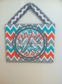 DIY door sign for dorm room | College time | Pinterest ...