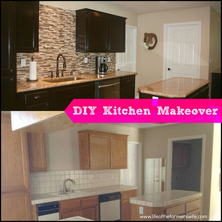 Buying Kitchen Cabinets On A Budget Diy Complete Kitchen Makeover - Step By Step Instructions
