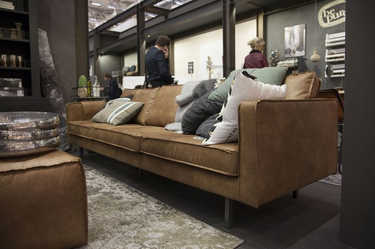 Be Pure Home Rodeo Bank Bepurehome #imm2015 #immcologne2015 Our Leather Rodeo Sofa