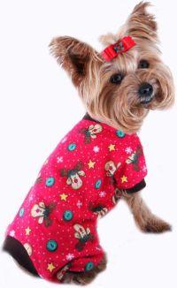 Fleece Dog PJ - Pet PJs, Small Dog Pajamas, Dog PJs, Dog ...