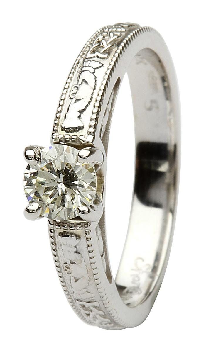 celtic claddagh wedding ring set irish celtic wedding bands