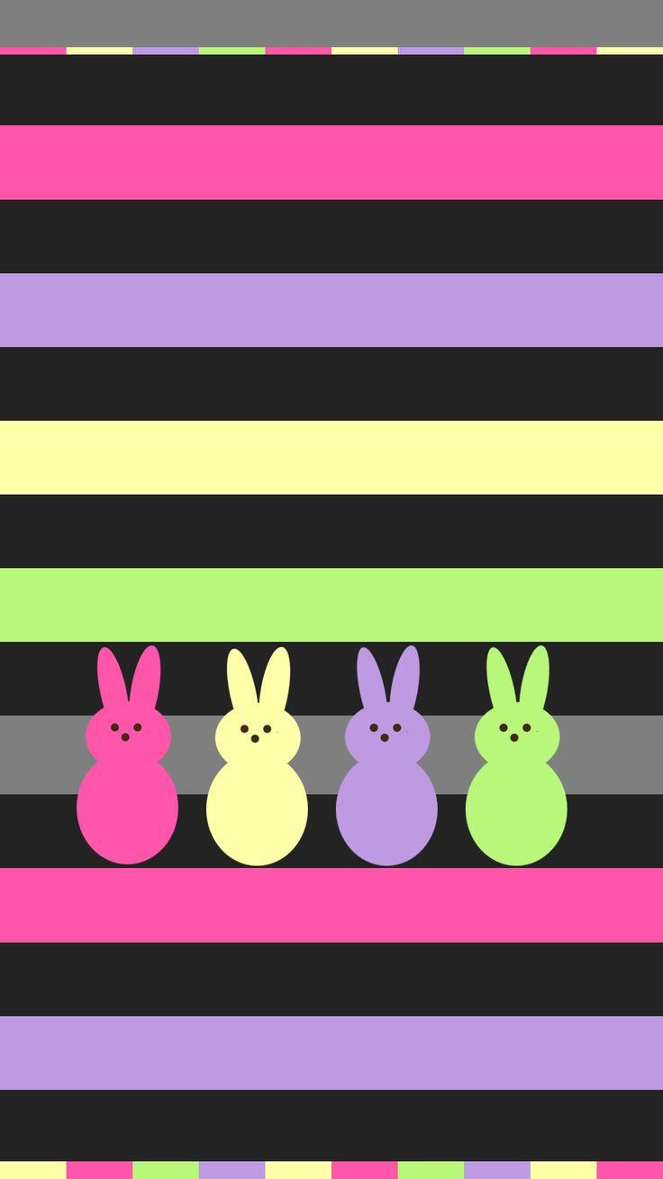 Sugar Skull Girl Wallpaper Easter Peeps Iphone Wallpaper Background Iphone