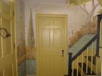 142 best images about Colonial and Primitive Wall Murals ...