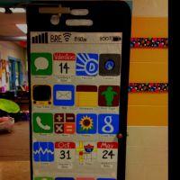iPhone school door decor w/important dates/activities for ...