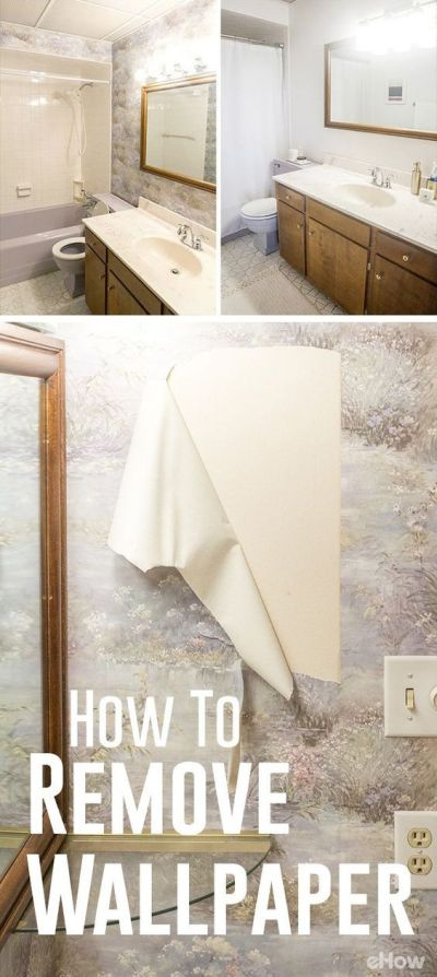 17 Best ideas about Remove Wallpaper on Pinterest | Removing wallpaper, How to remove wallpaper ...