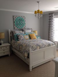 Best 20+ Gray turquoise bedrooms ideas on Pinterest